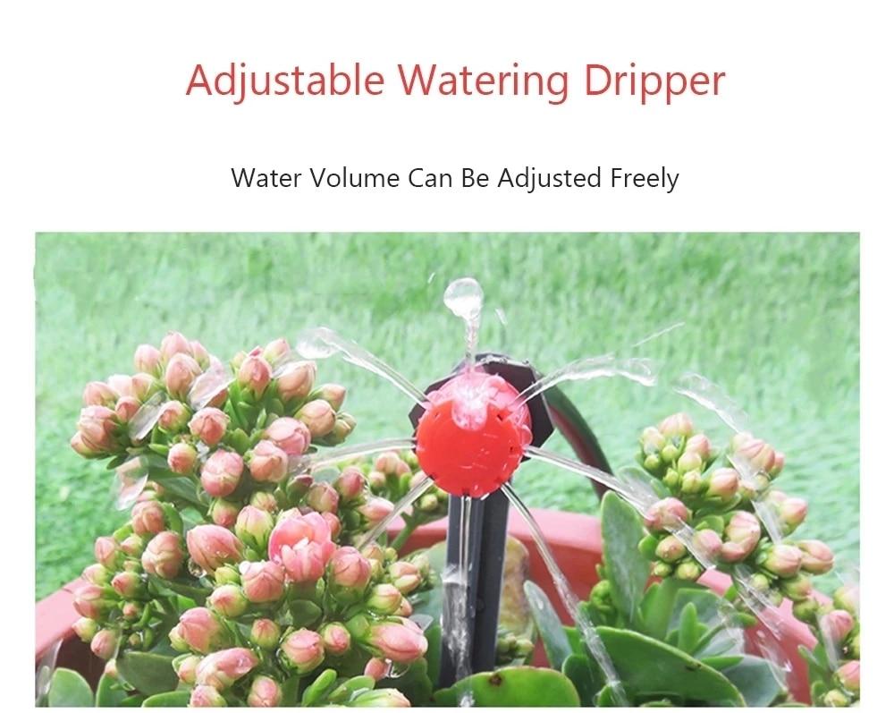 H80b118d957ea4f59ab47d4461f87ae06p Garden Drip irrigation Hose Connector Spray Sprinkler Automatic Irrigation Garden Irrigation System Autowatering