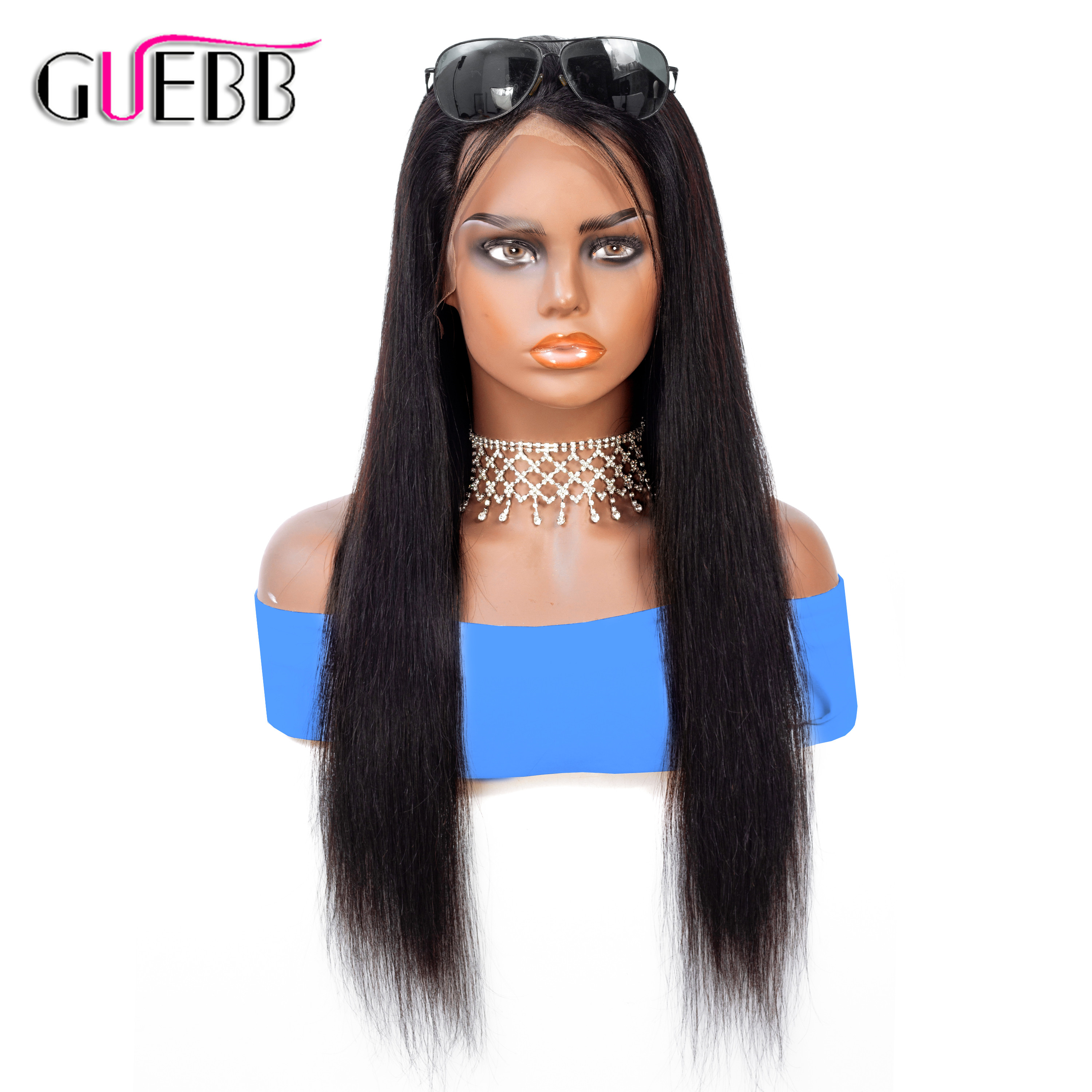 Brazilian 13 4 Straight Lace Front Human Hair Wigs Remy 10 26 Inch Lace Front Wig