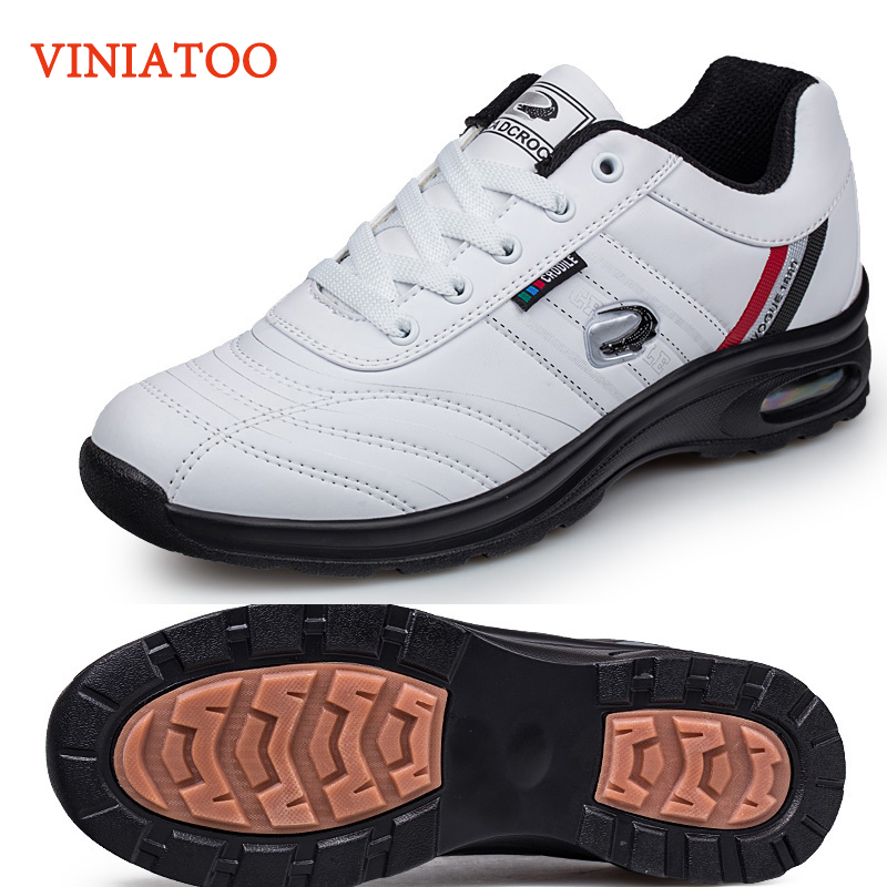2020 New Brand Mens Waterproof Golf Trainers Sneakers Outdoor Comfortable Anti Slip Grass Golf Shoes Men Lightweight Sport Shoes