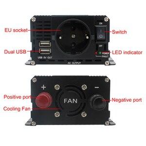 LCD display auto-inverter DC 12V zu AC 220V 1500W/2000W/2600W ladegerät transformador spannung konverter EU sockel auto zubehör