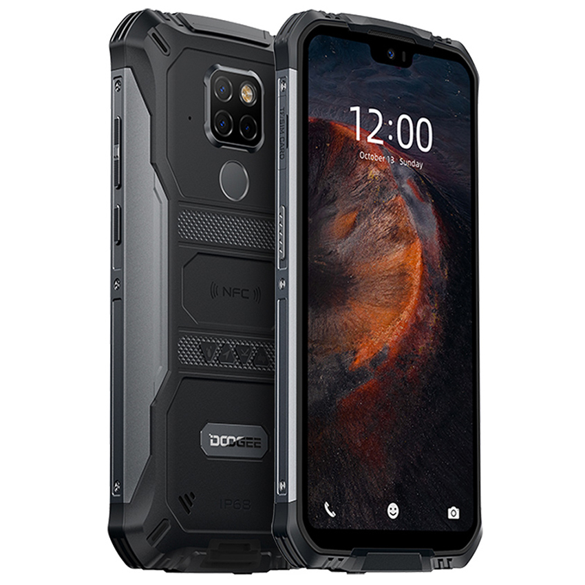 <font><b>DOOGEE</b></font> <font><b>S68</b></font> <font><b>Pro</b></font> 6GB + 128GB NFC 6300mAh <font><b>IP68</b></font> Waterproof mobile phone Octa Core Wireless Charge Android 9.0 4G Rugged Smartphone image