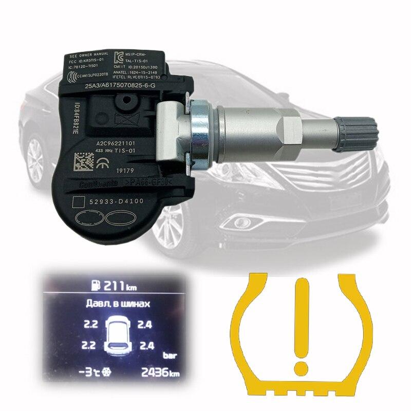 1PCS TPMS 52933D4100 For 2015-2020 Hyundai Elantra 2019 I30 Fadtback Kia Sorento Niro Tire Pressure Monitor Sensor 52933-D4100