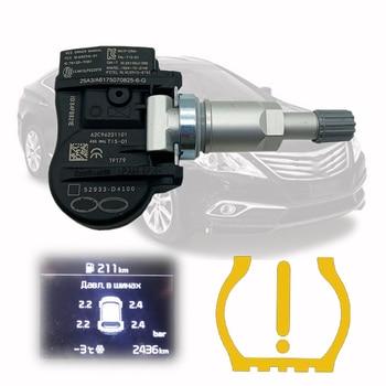 1PCS TPMS 52933D4100 For 2015-2020 Hyundai Elantra 2019 I30 Fadtback Kia Sorento Niro Tire Pressure Monitor Sensor 52933-D4100 tire pressure monitoring sensor tpms sensor 52933 d4100 52933d4100 for kia optima soul hyundai genesis g90 air pressure sensor