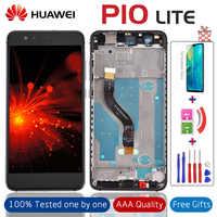 """5.2 """"oem qualidade lcd com moldura para huawei p10 lite display digitador da tela para p10 lite WAS-LX1 WAS-LX1A WAS-LX2 WAS-LX3 + presentes"""