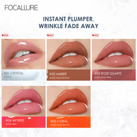 FOCALLURE High Shine Lip Gloss PLUMPMAX Nourish Soft & Smooth Lip Makeup non-Sticky formula Lipgloss 4