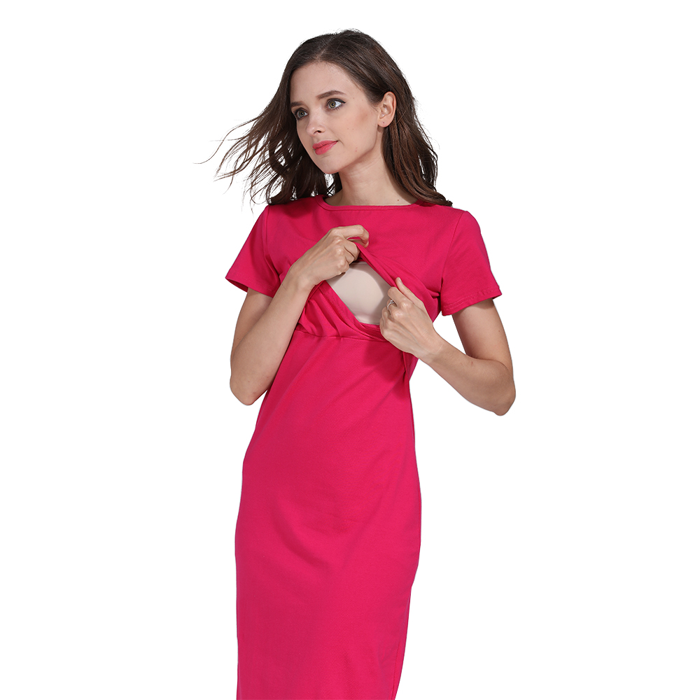 Image 5 - Emotion Moms Party maternity clothes maternity dresses pregnancy clothes for Pregnant Women nursing dress Breastfeeding Dressesclothes wholesaledress with back zipclothes cleaning -