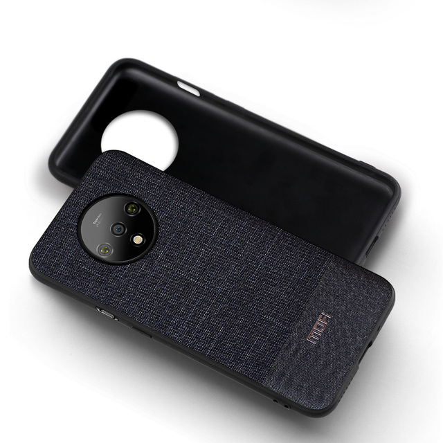 MOFi OnePlus 7T Luxury Business Style Shockproof Back Case Cover