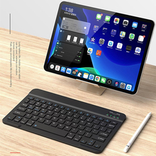 Russian/French/Spanish Keyboard Ultra-Slim Bluetooth Wireless Keyboard For Iphone Ipad Android Tablet PC Phone For Huawei M6