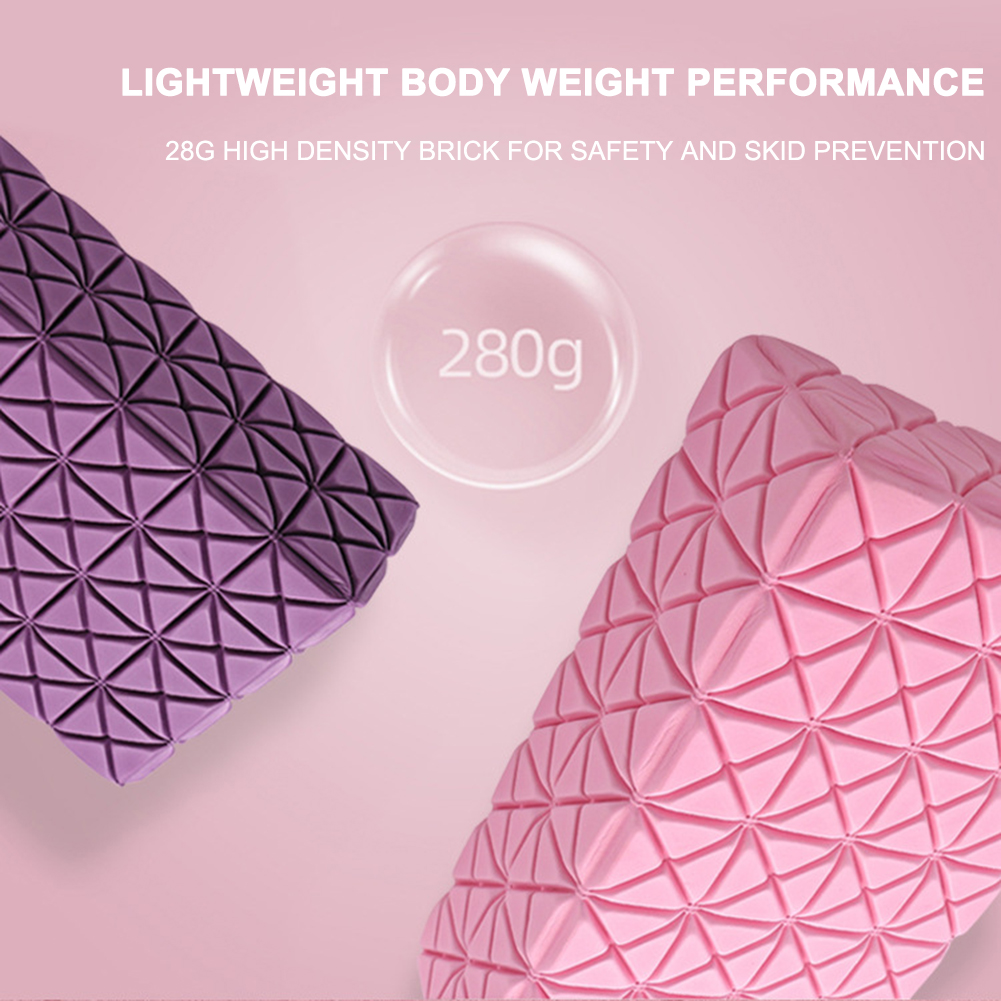 Yoga Block Foam Gym Pilates EVA Fitness Brick Female Exercise Workout Bodybuilding Training Sports Equipment