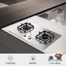 5.0kw 12T gaz naturel/20Y cuisinière à gaz liquéfié maison cuisine intégrée/bureau double usage en acier inoxydable poêle à feu