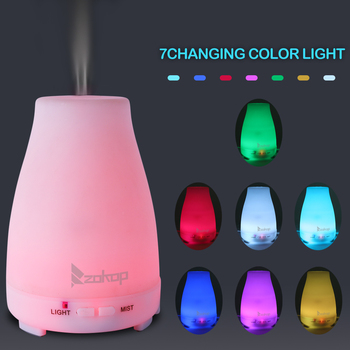 LED Light Humidifier Aromatherapy Warm Night Light Essential Oil Aroma Diffuser Air ultrasonic Aroma Diffuser Home Decor Lamp decleor aroma night