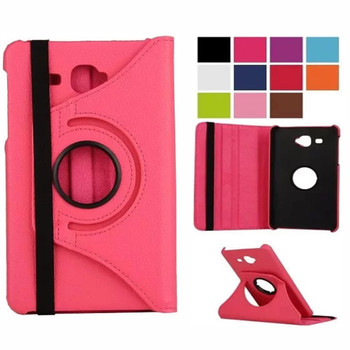 Case for Samsung Galaxy Tab A 7.0 T280 T285 SM-T280 SM-T285 2016 PU Leather Case 360 Rotating Folding Stand Smart Cover hot selling coque case for samsung galaxy tab a 7 0 sm t280 sm t285 heavy duty 3 in 1 hybrid rugged case shockproof cover capa