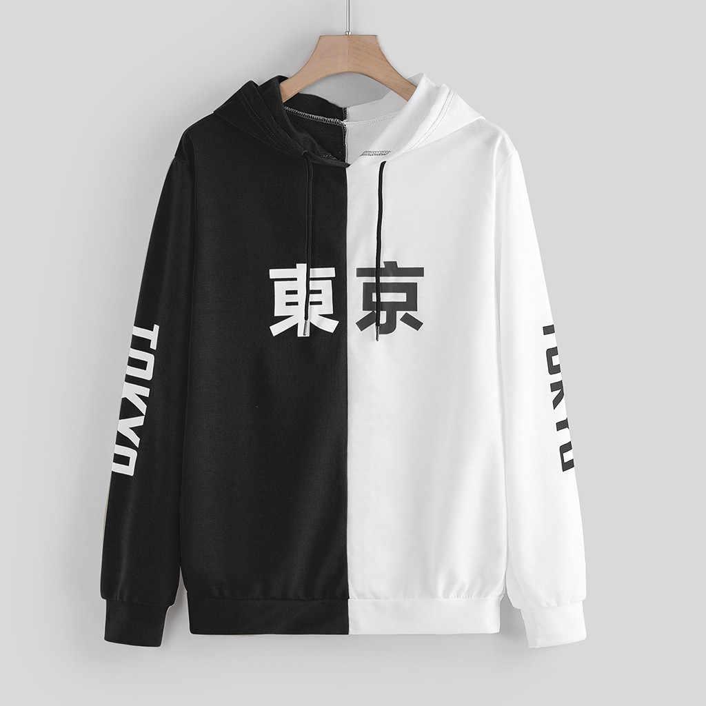 Tokyo City pulls à capuche pour hommes sweat 2020 Harajuku pull à capuche Hip Hop sweat Outwear Sudadera Hombre hommes sweat