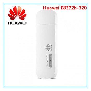 2021 New Arrival Unlocked Huawei E8372h-320 4G USB WiFi Dongle E8372 modem Huawei logo 1