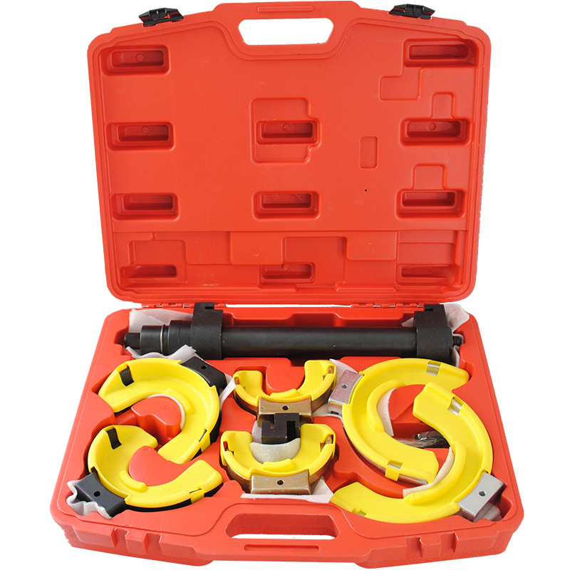 Disassembly Tool With Protective Sleeve Shock Absorber Spring Compressor
