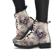 Женские ботинки Martin с цифровым принтом; Сезон осень; Модные женские рабочие ботинки из искусственной кожи в британском стиле; 2020