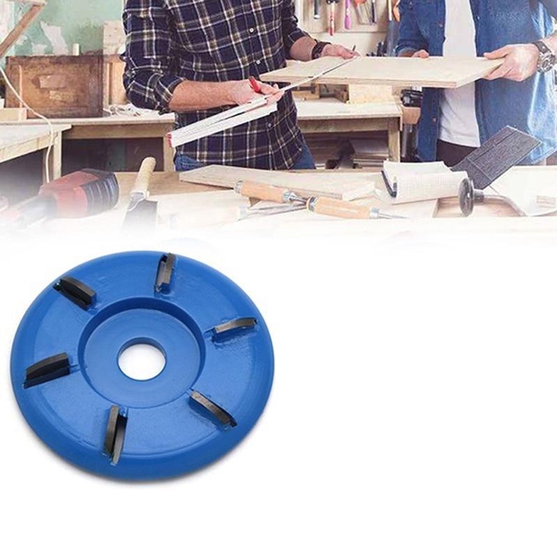 90mm çap 16mm delik üç dört altı diş ağaç İşleme Turbo çay tepsisi kazma ahşap oyma disk aracı freze kesicisi