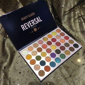 Image 5 - Bellezza Satinato ombretto Tavolozze colorato Ombretto Tavolozze Glitter Evidenziatore Shimmer Make up pigmento matte Ombretto Pallete