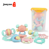 Fashion Newborn Baby Battle Teether Baby Crib Mobile ABS Food Grade Silicone Baby Toys 0 12 Months Toddler Toys Sensory Toys