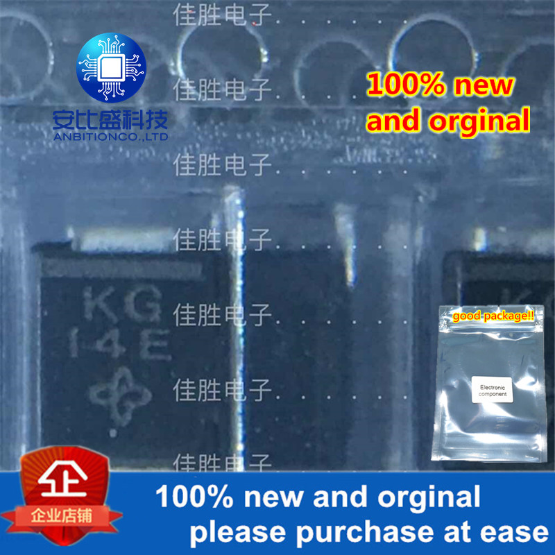 50pcs 100% New And Orginal SMBJ6.0A DO214AA Silk-screen KG In Stock