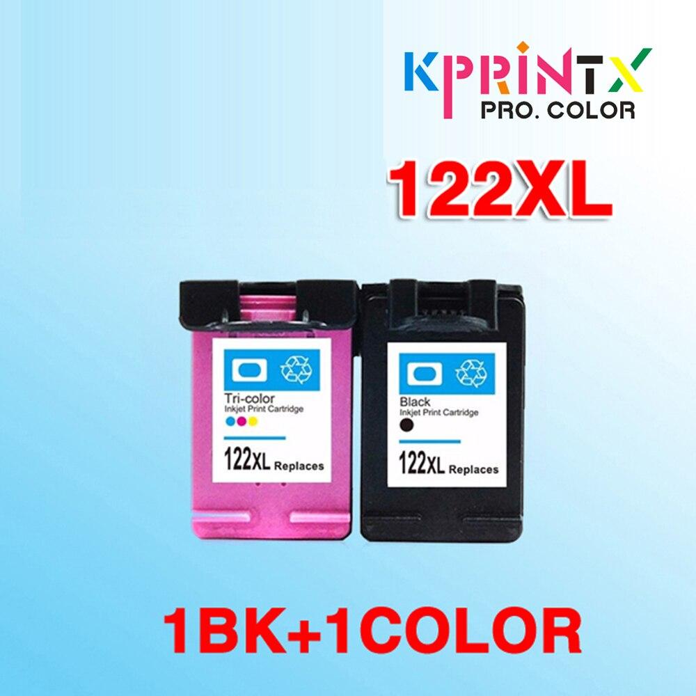 Чернильный картридж 2x, совместимый с hp122 122XL, сменный картридж для 122 Deskjet 1000 1050A 2000 2050 2050A 3000 3050 3050A 1510