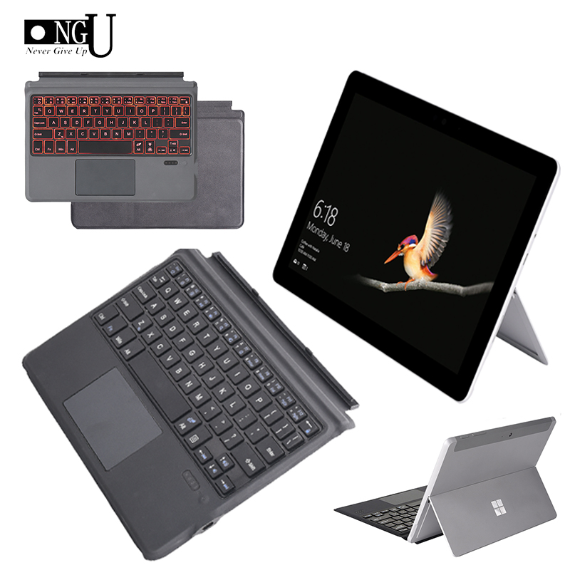 High Quality Keyboard Case for Microsoft Surface Go laptop Microfiber Bluetooth Keyboard for Surface Go Wireless Keyboard Cover