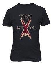 Мужская футболка с изображением престолов House Bolton