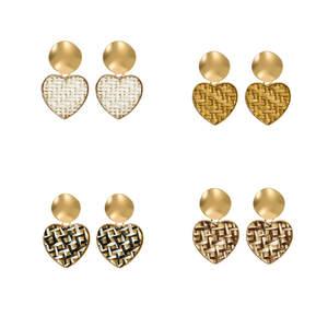 Heart-Earrings Party-Jewelry Girl Vintage Bohemia Fashion Women for Large Sweet Heart-Statement