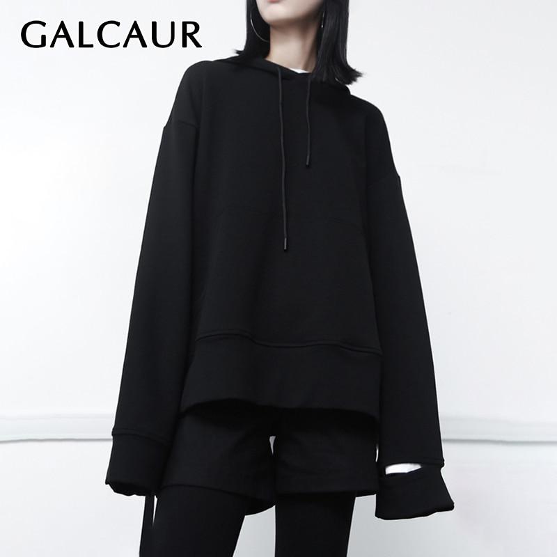 Women Back Lace Up Hooded Zipper Sweatshirts Long Sleeve  Outwear Casual Hoodies