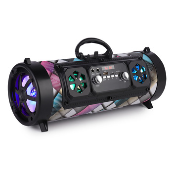 Portable Bluetooth Speaker Column Outdoor Wireless Speaker Music Stereo Subwoofer Speaker Move KTV 3D Sound FM Radio 1