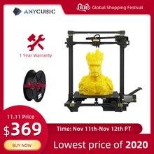 Anycubic 3d Printer Chiron Plus Size 400*400*450mm Auto leveling 3D printer DIY Kits FDM TFT impresora 3d Dual Z axis 3d drucker