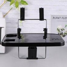 1 מחשב נייד מכונית מושב הגה מחשב נייד מחברת מגש שולחן מתקפל מכונית שולחן מחשב נייד מחשב Stand מזון לשתות מחזיק מתלה (