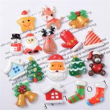 Mix Стиль 20 штук Рождественская елка обувь снеговик подарок