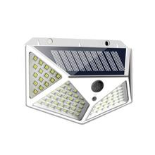 100 LED Solar Powered Wall Lamp