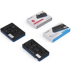 Image 2 - Qianli plateforme de pochoir de rebond BGA 3D, pour iPhone X, XS, 11 Pro MAX, carte mère, couche intermédiaire, plantation de modèles en étain, filet