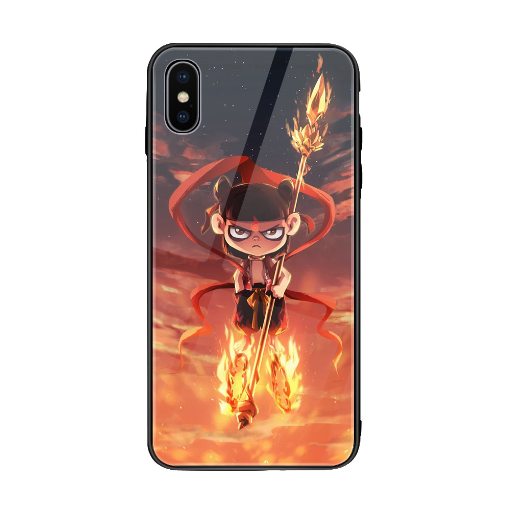 YUNAO phone case For iphone series Cartoon painting patterned XS XR 6 7 8  8plus max