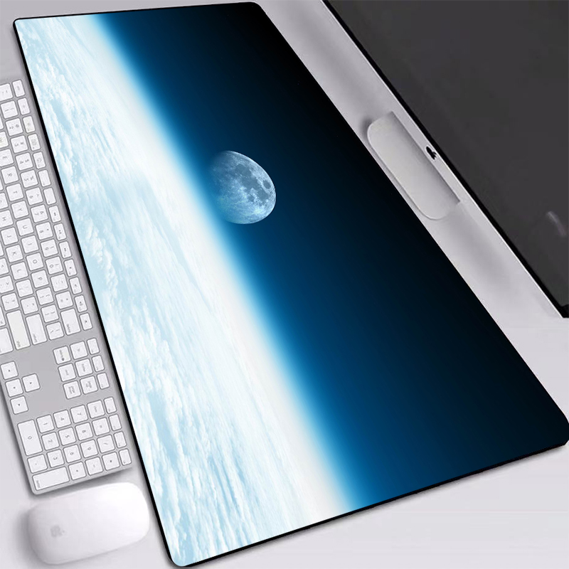 Large Mouse Pad 70x40/80x40/90x40cm HD Wallpaper Vast Space Printed Mouse Pad Computer Laptop Mice Pad For Gaming Mouse Pad