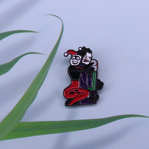Mad Love Harley Loves Joker и Harley Quinn эмалированная булавка DC comics подарок фанатам