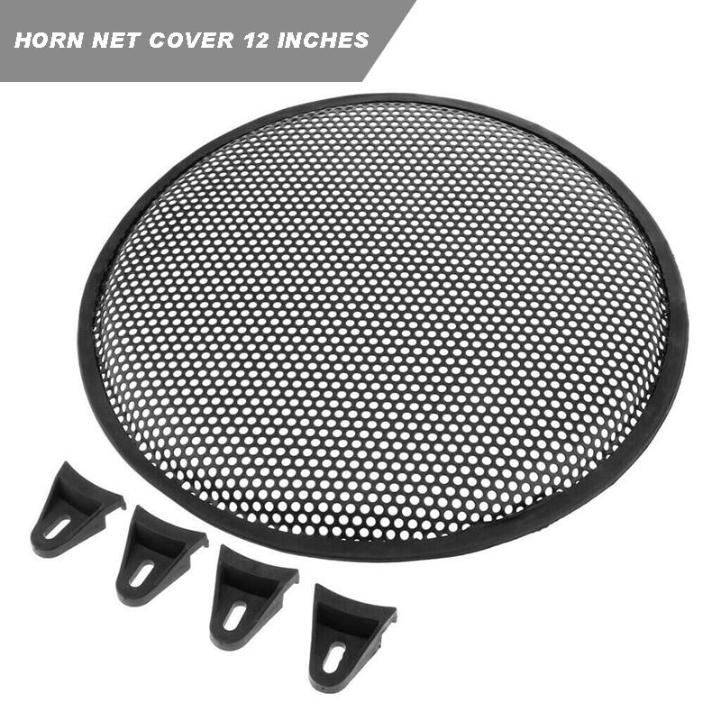 Universal Car Home 8inch Metal Subwoofer Speaker Grille Cover Case Gold