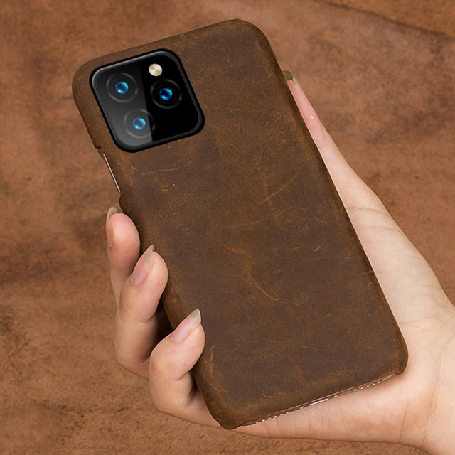 Leather Phone Cover iPhone 11 Pro Max 3
