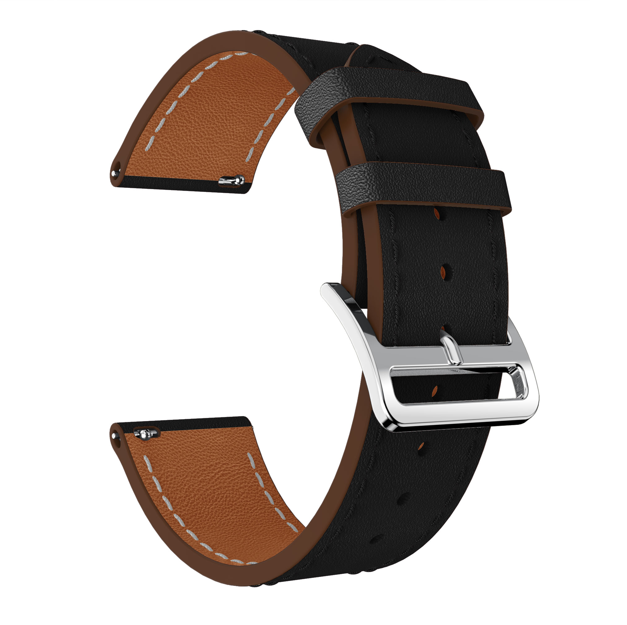 Yayuu Smart Watch Watchbands Carved Belt Genuine Leather Watch Strap Bracelet Pin Buckle Spare For Fitbit Blzae Versa 1 2 Band in Smart Accessories from Consumer Electronics