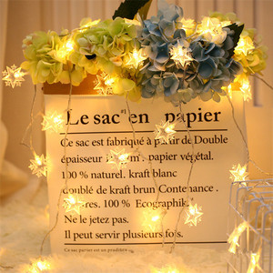 Image 3 - Wedding Decoration EID Mubarak Star Moon Led Lights Strip Decor EID Party Supplies Ramadan Muslim Islam Decor Party Favors,Q