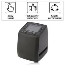 Protable Negative Film Scanner 35mm High Resolution Scanner Digital Converts Portable Digital Film Converter 2.4 Inch LCD(China)