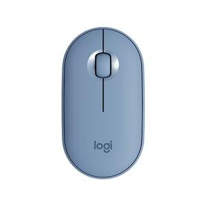 Image 4 - Logitech PEBBLE Bluetooth เงียบไร้สายบางและแบบพกพาโมเดิร์นเมาส์ 1000DPI 100G ความแม่นยำสูง OPTICAL