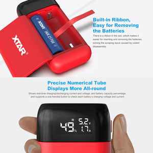 Image 4 - XTAR PB2S USB Charger With Power Bank Portable Charger TypeC Input QC3.0 Fast Charging 18700 20700 21700 Battery Charger 18650