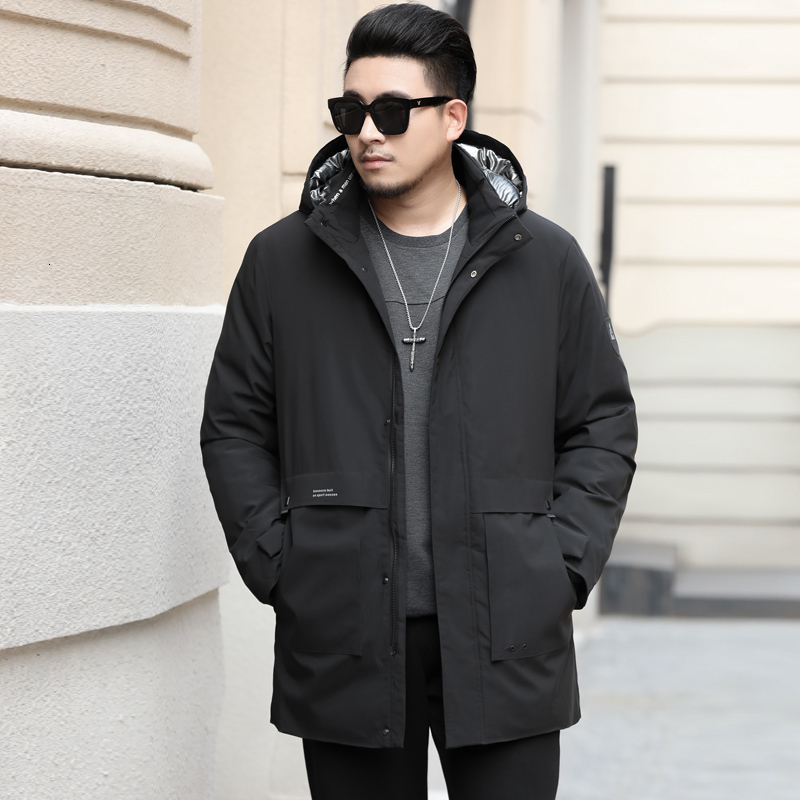 Plus Size 8XL 7XL Winter Jacket Men Parkas Top Warm Waterproof Big Size 2020 Thicken Male Heavy Coat High Quality Cotton-Padded