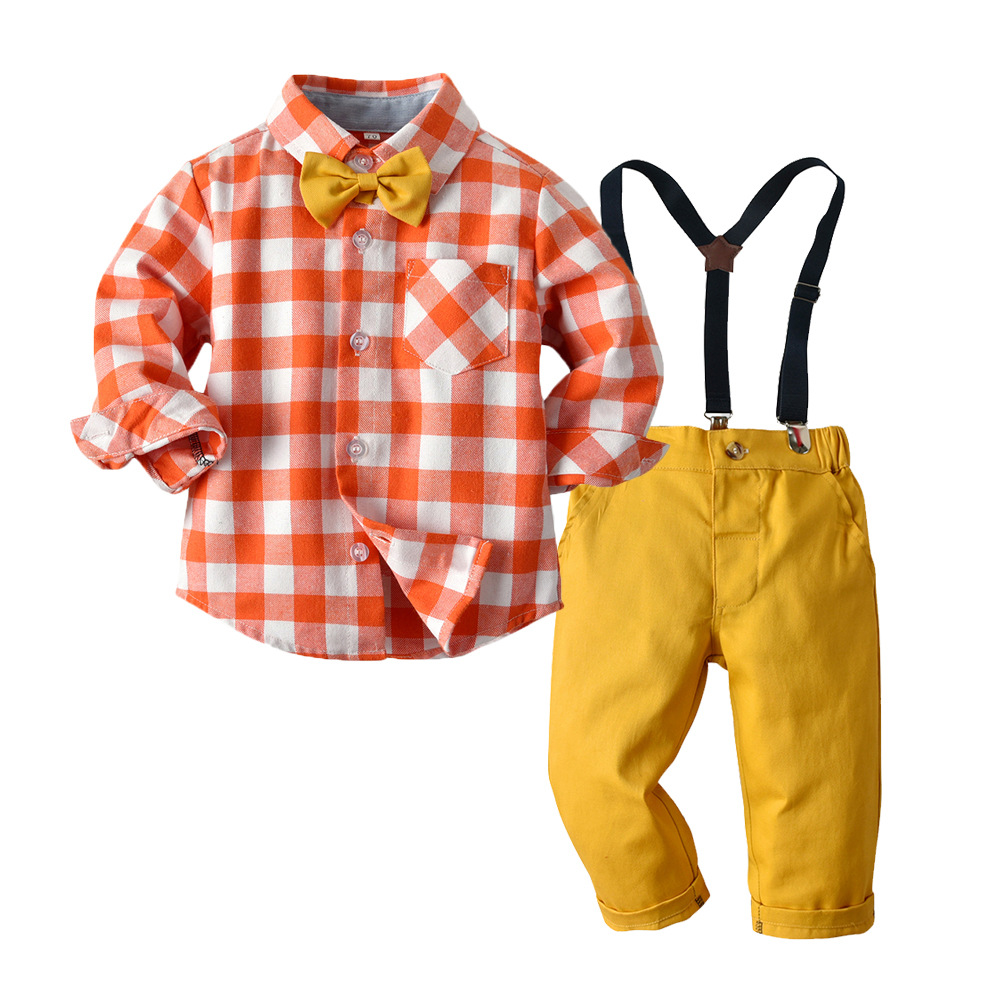 Meninos Outono Terno Infantil Roupas Garoto conjunto