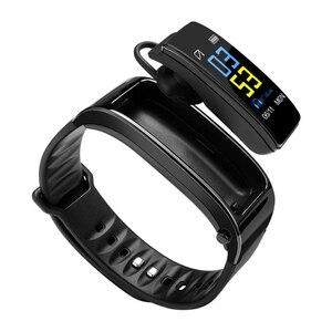 Image 1 - Y3 Plus bezprzewodowe słuchawki Bluetooth Smart watch zdrowia Tracker: krokomierz bransoletka fitness inteligentne nadgarstek zestaw słuchawkowy Bluetooth
