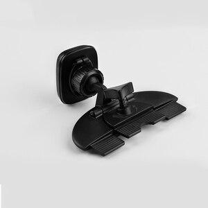 Image 4 - 自動車電話ホルダーマグネットブラケットcdポートタブレットpcスタンド磁気オートスリープipad 9.7 10.5 11ミニ4サムスンタブgpsマウント