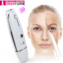 Mini Hifu beauty Line V-Shape RF Face Neck Lifting Beauty Massager Wrinkle Removal Tightening Ultrasound Bipolar недорого